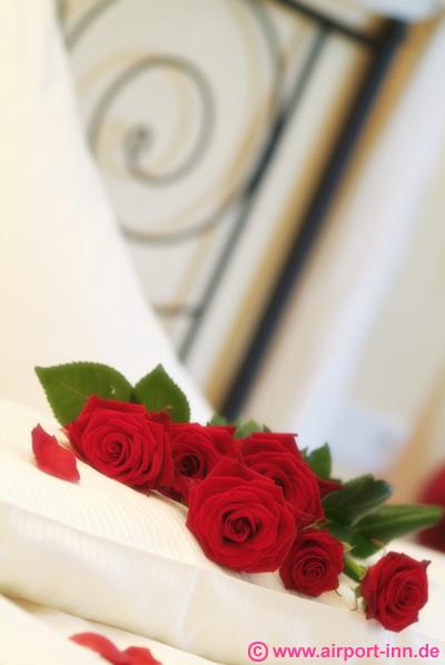 Dekoration mit Rosen